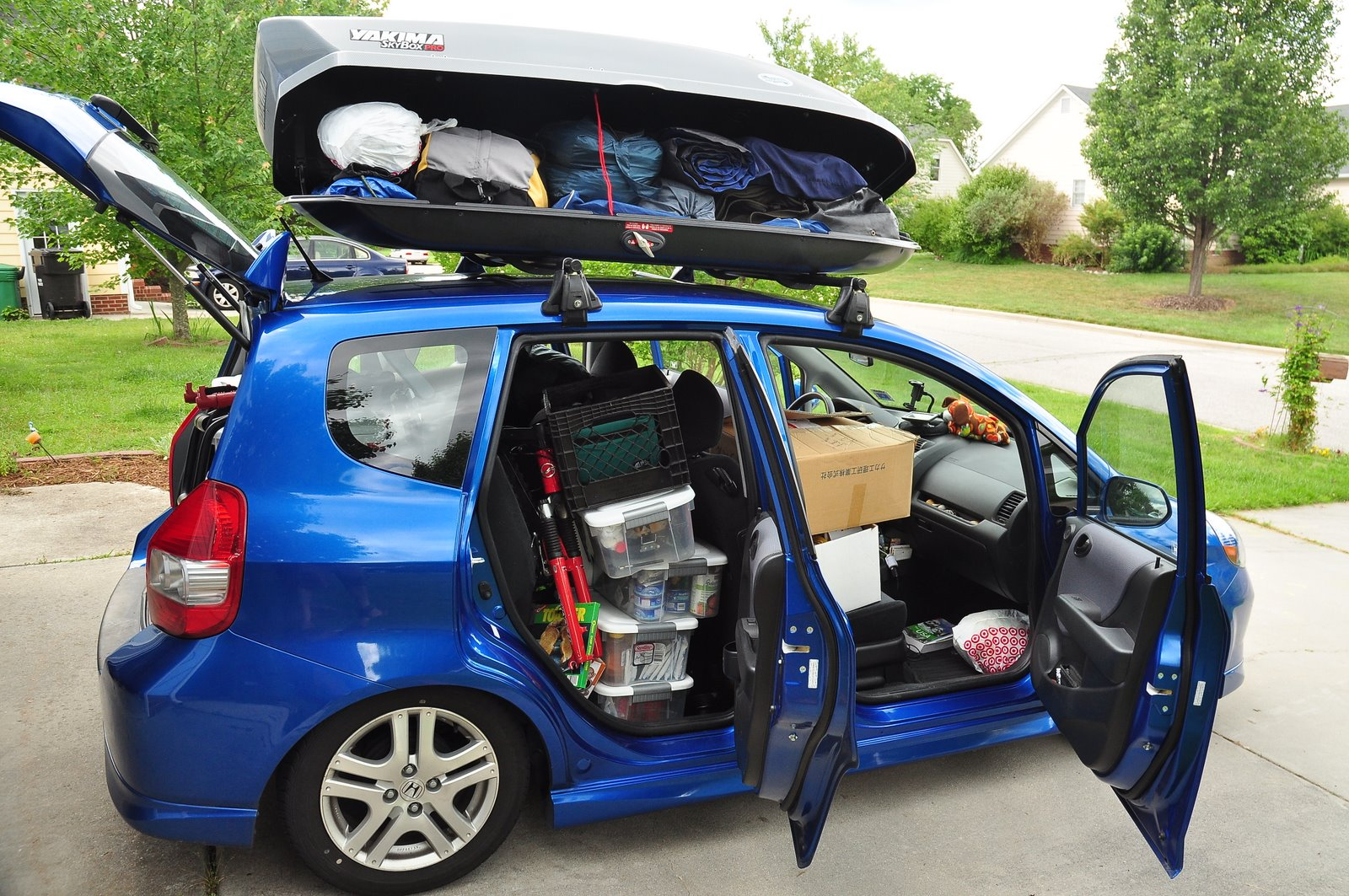 Roof Rack Box On Fit Unofficial Honda Fit Forums